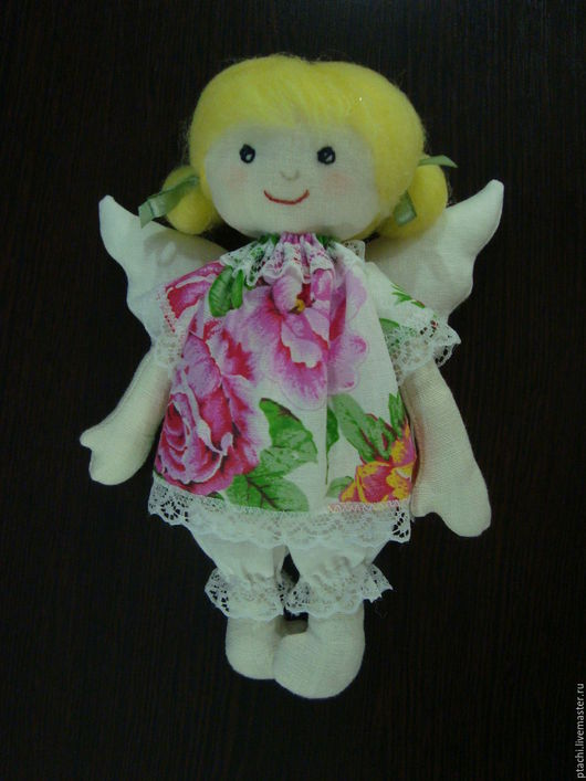Куклы Тильды ручной работы. Ярмарка Мастеров - ручная работа. Купить Ангелинка. Handmade. Куколка на счастье, нежность