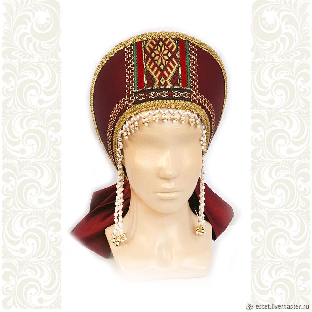 Headwear Marfa, Kokoshnik, Korolev,  Фото №1