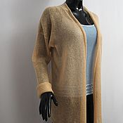 Одежда handmade. Livemaster - original item Cardigan knitted from kid-mohair. Handmade.