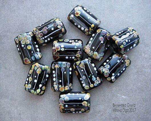 """Для украшений ручной работы. Ярмарка Мастеров - ручная работа. Купить Бусина лэмпворк серии """"Muse Drops"""". Handmade."""