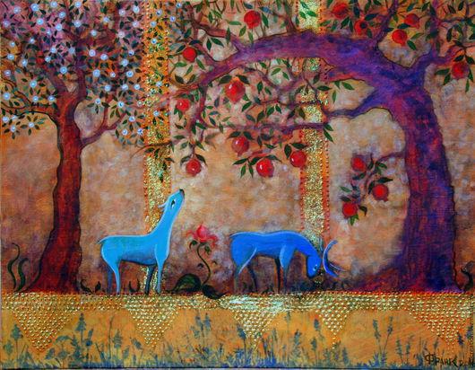 Принт. Картина: `Сказочный сад`
