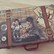 Сумки и аксессуары handmade. Livemaster - original item The case for the young gentleman. Handmade.