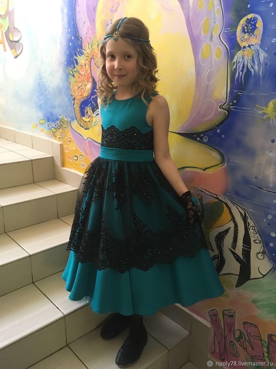 Платье детское с подъюбником