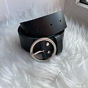 Аксессуары handmade. Livemaster - original item Belt: Belt pattern genuine leather. Handmade.