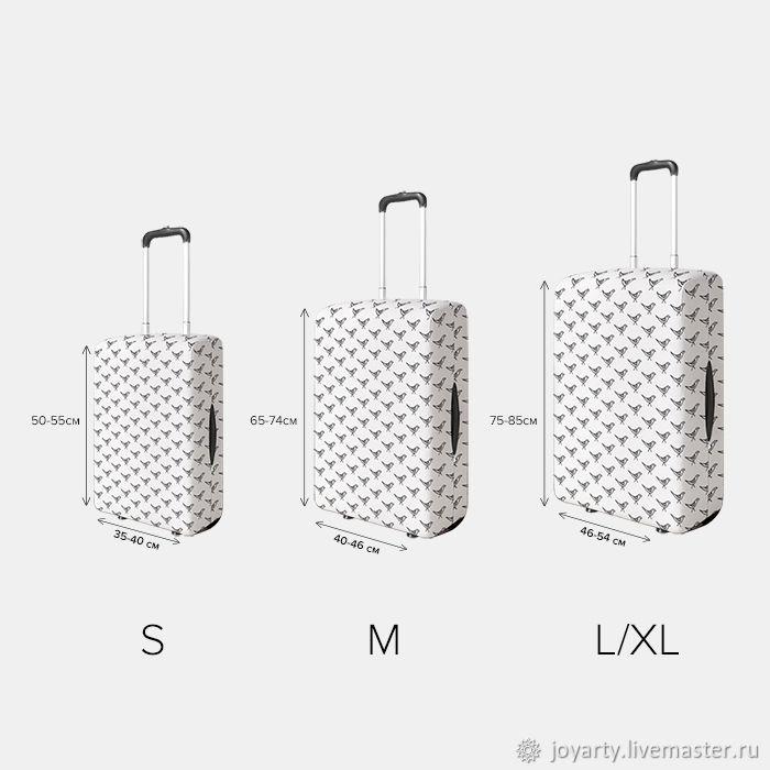Чехол для чемодана «Советский союз» (S,M,L/XL)