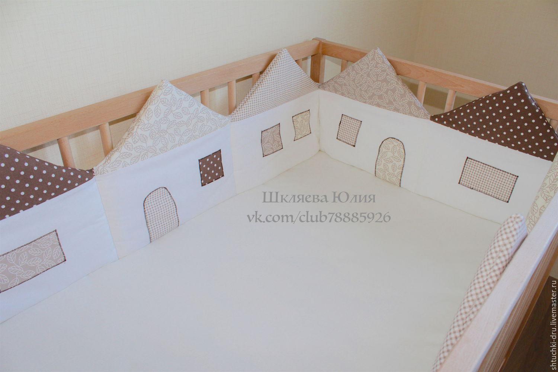 Бортики в кроватку малыша своими руками: идеи, выкройки 31