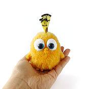 Мягкие игрушки ручной работы. Ярмарка Мастеров - ручная работа Вязаный птенчик. Handmade.