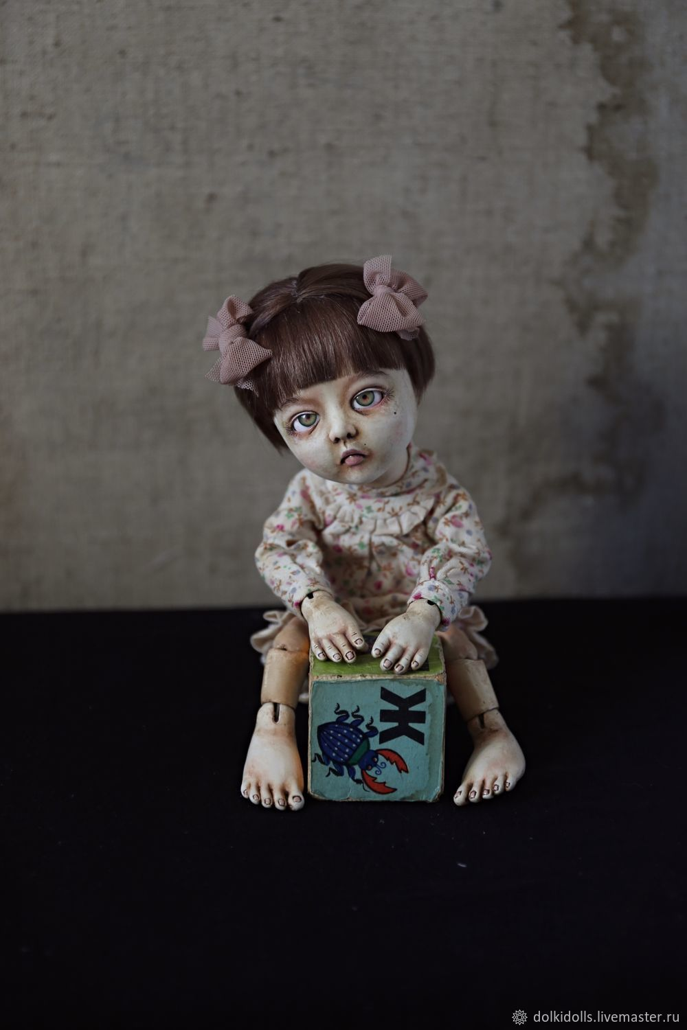 Jointed doll: Yana, the author's hand-made articulated doll, Ball-jointed doll, Dzerzhinsky,  Фото №1