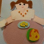 Куклы и игрушки ручной работы. Ярмарка Мастеров - ручная работа Именная книжка. Handmade.