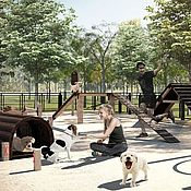 Игрушки для животных, ручной работы. Ярмарка Мастеров - ручная работа Спортивные снаряды для собак. Handmade.
