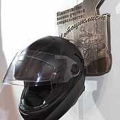 Вешалки ручной работы. Ярмарка Мастеров - ручная работа Подарок для мотоциклиста. Настенная вешалка для шлема. Handmade.