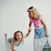 Одежда ручной работы. Ярмарка Мастеров - ручная работа Детский костюм для фотоссесии из коллекции ,,Нежность,,. Handmade.