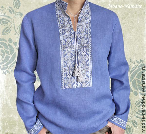 Вышиванка схема женская сорочка