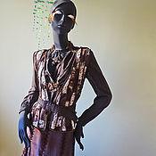Одежда ручной работы. Ярмарка Мастеров - ручная работа Комплект НеобыЧайная Леди. Handmade.