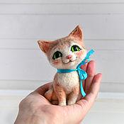 """Куклы и игрушки ручной работы. Ярмарка Мастеров - ручная работа Интерьерная игрушка """"Котенок Рыжик"""". Handmade."""