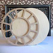Материалы для творчества handmade. Livemaster - original item Blank Clock 40 Smith plywood. Handmade.
