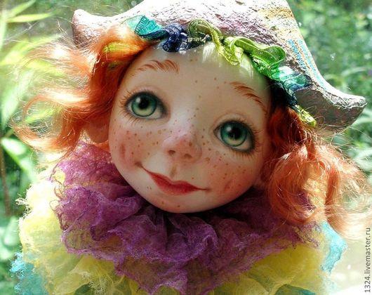 """Коллекционные куклы ручной работы. Ярмарка Мастеров - ручная работа. Купить Кукла """"А клоуны остались."""". Handmade. Рыжий"""