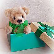 Куклы и игрушки handmade. Livemaster - original item Teddy bear - Tisha author Teddy bear from German plush. Handmade.