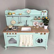Мебель ручной работы. Ярмарка Мастеров - ручная работа Детская деревянная кухня. Handmade.