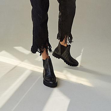 Обувь ручной работы. Ярмарка Мастеров - ручная работа Челси: Night. Handmade.