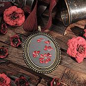 Украшения handmade. Livemaster - original item Embroidered pendant Tauriel. Handmade.