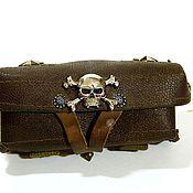 Сумки и аксессуары handmade. Livemaster - original item Belt bag