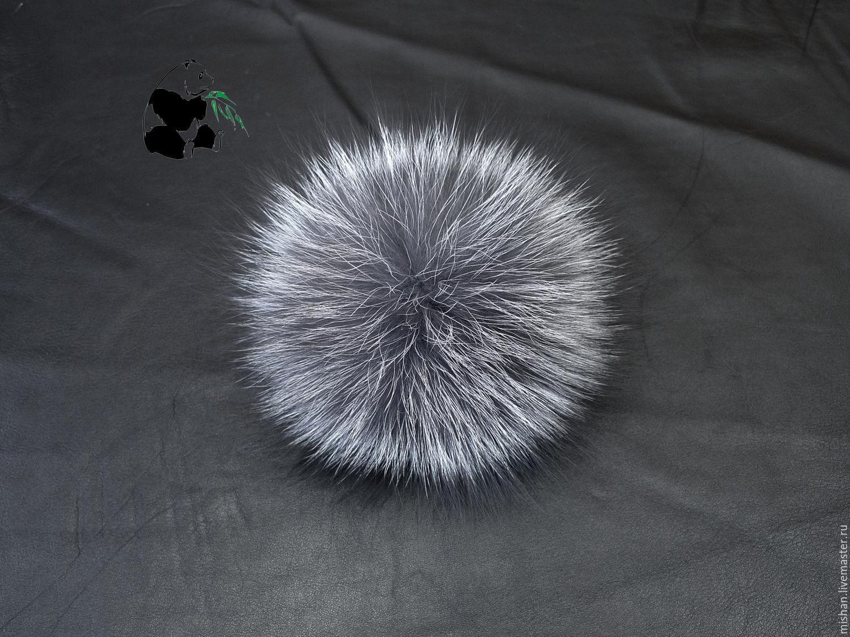 Fur POM-POM Fox fur, raccoon, Fox, red Fox, Pompons, Ekaterinburg,  Фото №1