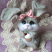 Куклы и игрушки handmade. Livemaster - original item Zaya hostess toy from wool. Handmade.