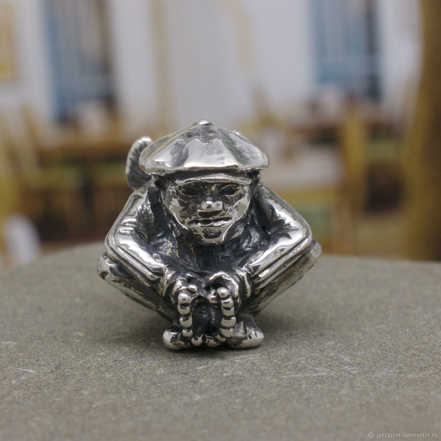 All for Jewelry Making handmade. Livemaster - handmade. Buy Tramp charm.Gangster, sterling silver