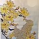 """Животные ручной работы. Ярмарка Мастеров - ручная работа. Купить Алмазная живопись, вышивка стразами """"Павлины"""". Handmade. Белый, вышивка"""