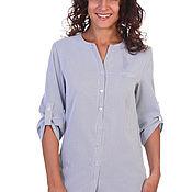 Одежда handmade. Livemaster - original item Shirt in thin stripe. Handmade.