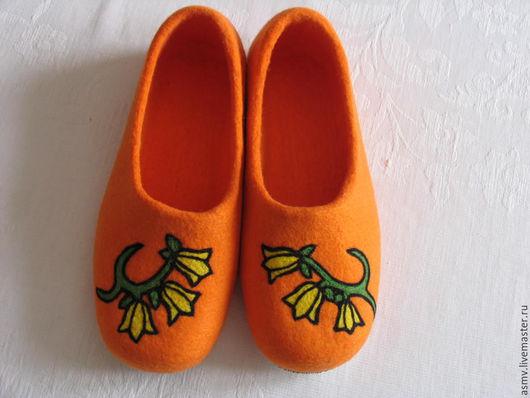 Обувь ручной работы. Ярмарка Мастеров - ручная работа. Купить Тапочки. Handmade. Тапочки, тапочки для дома, тапочки женские валяные
