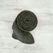 Аксессуары ручной работы. Ярмарка Мастеров - ручная работа Шерстяной вязаный шарф. Handmade.