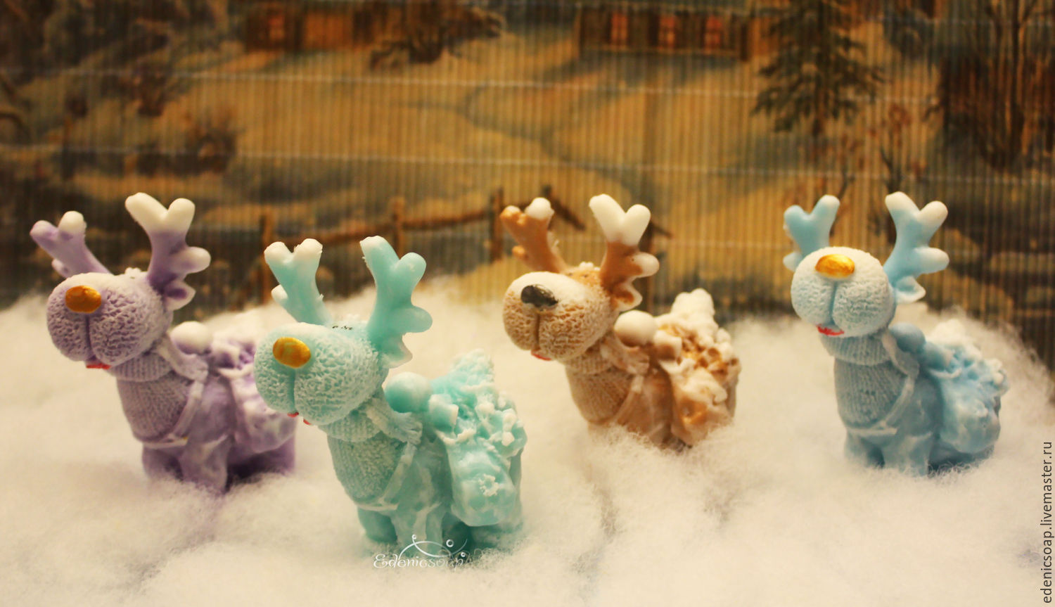 Christmas gifts. Handmade soap. Gifts to colleagues,family and friends.Edenicsoap.