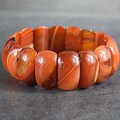 Украшения handmade. Livemaster - original item Rare example! Bracelet with natural carnelian. Handmade.