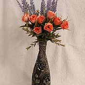 Вазы ручной работы. Ярмарка Мастеров - ручная работа Ваза для цветов. Handmade.