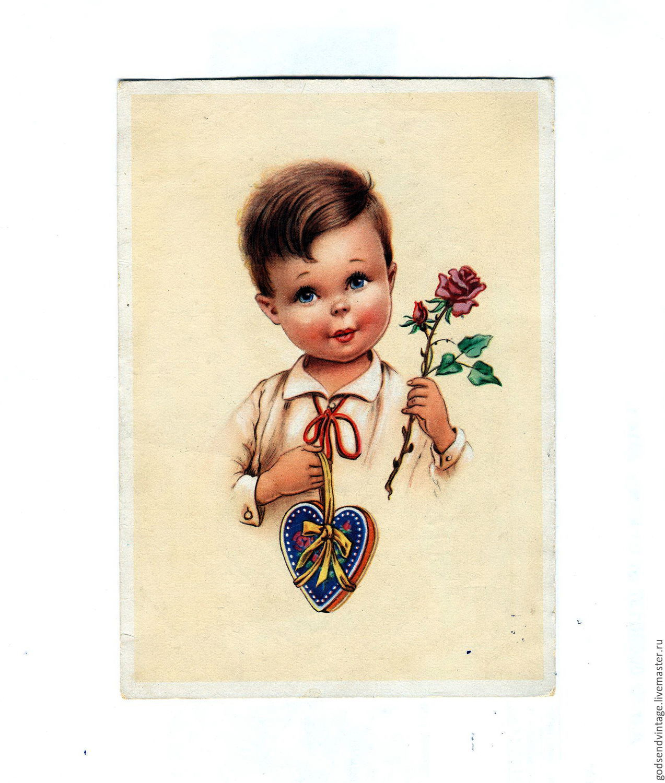 Началом зимы, продам немецкие открытки 40-х годов