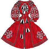 "Одежда handmade. Livemaster - original item Long dress with wedges ""Spring Beauty"". Handmade."