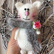 Куклы и игрушки ручной работы. Ярмарка Мастеров - ручная работа Котик вязанный. Handmade.