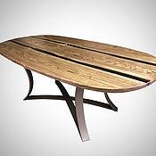 Для дома и интерьера handmade. Livemaster - original item Dining table from elm