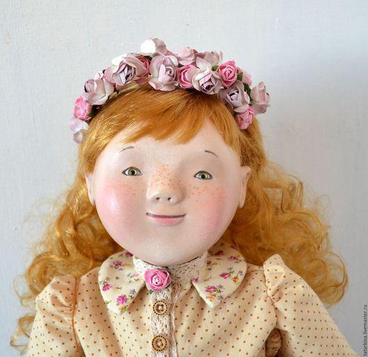 Коллекционные куклы ручной работы. Ярмарка Мастеров - ручная работа. Купить Будуарная кукла Злата. Handmade. Бежевый, авторская кукла