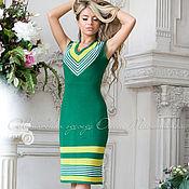 """Одежда ручной работы. Ярмарка Мастеров - ручная работа Платье """"Летняя зелень"""". Handmade."""