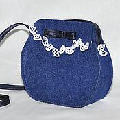 Работы для детей, ручной работы. Ярмарка Мастеров - ручная работа Фетровая сумочка для телефона.. Handmade.