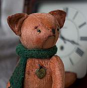 Куклы и игрушки ручной работы. Ярмарка Мастеров - ручная работа Лисёнок Савелий. Тедди. Handmade.