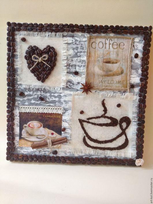 Кофейное панно `Признание`