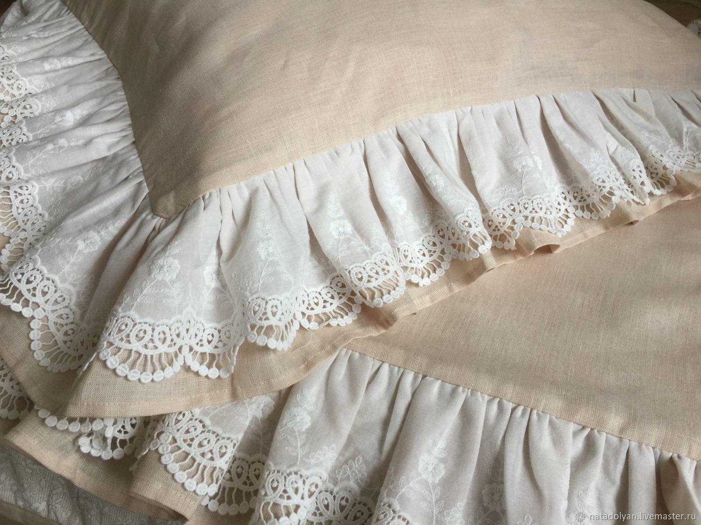 Pillowcase linen 100%' Flax tradition', Pillowcases, Ivanovo,  Фото №1