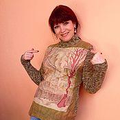 Одежда ручной работы. Ярмарка Мастеров - ручная работа Водолазка женская ART STREET. Handmade.