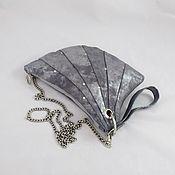Сумки и аксессуары handmade. Livemaster - original item Silver-blue