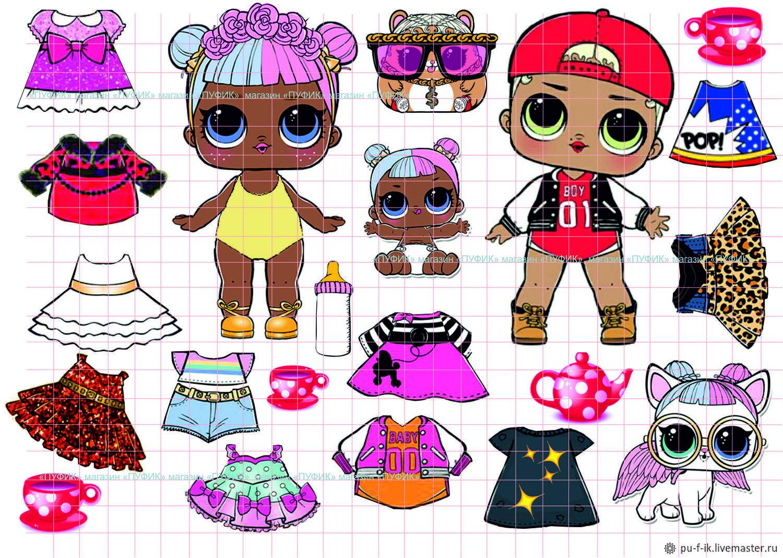 Одевашка кукла LOL surprise – купить в интернет-магазине ...