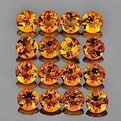 Материалы для творчества handmade. Livemaster - original item Natural citrine 3 mm.. Handmade.